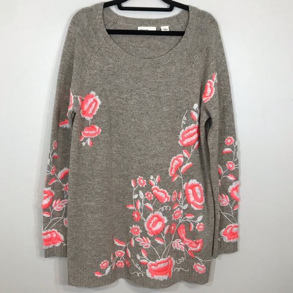 70d640dd1c1e Anthropologie Sweaters - Sleeping on Snow scoop Neck Pullover Sweater